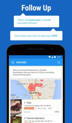 HOUND Voice Search and Assistant 4