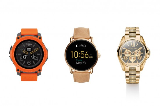 Michael Kors, Fossil and Nixon Android Wear watches announced this week