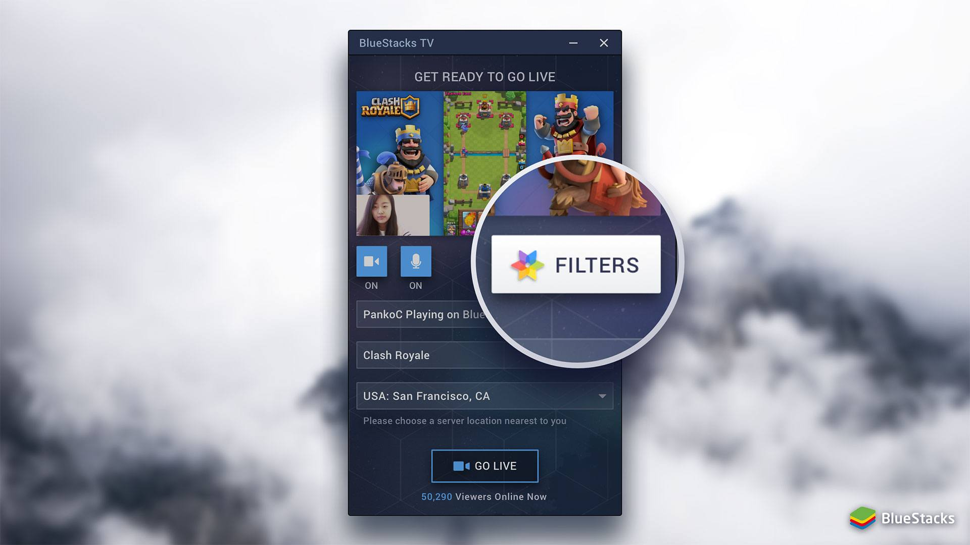 Filters Button
