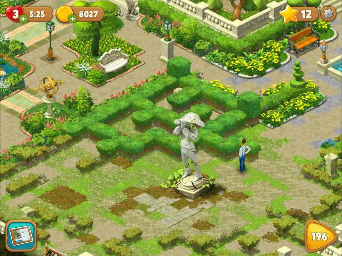 игра Gardenscapes скачать бесплатно на русском языке на компьютер - фото 7
