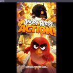 Angry Birds Action - Splash Screen