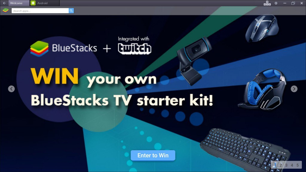Enter to Win your own BlueStacks TV Starter Kit