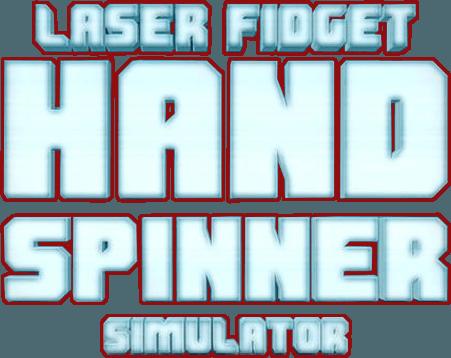 Laser fidget hand spinner on pc