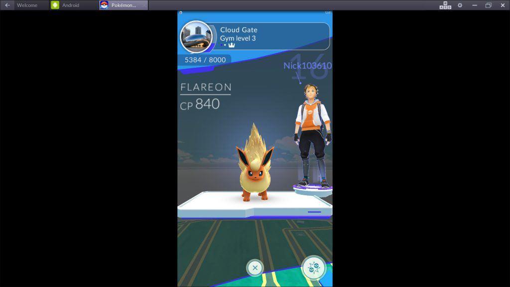 Pokemon GO - Gym Opponents
