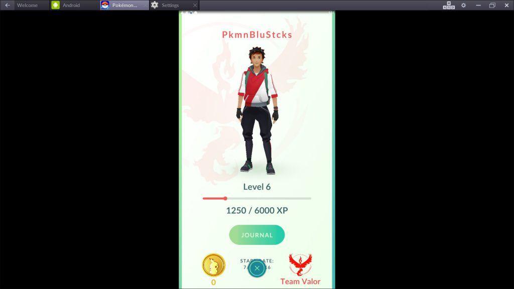 Pokemon GO - Level Up Trainer