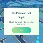 Pokemon Go - Pokemon Fled