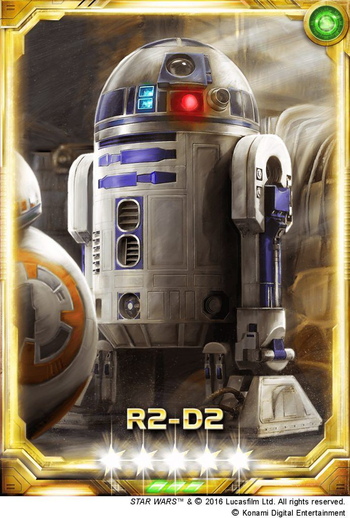 Exclusive R2-D2 card for Star Wars Force Collection