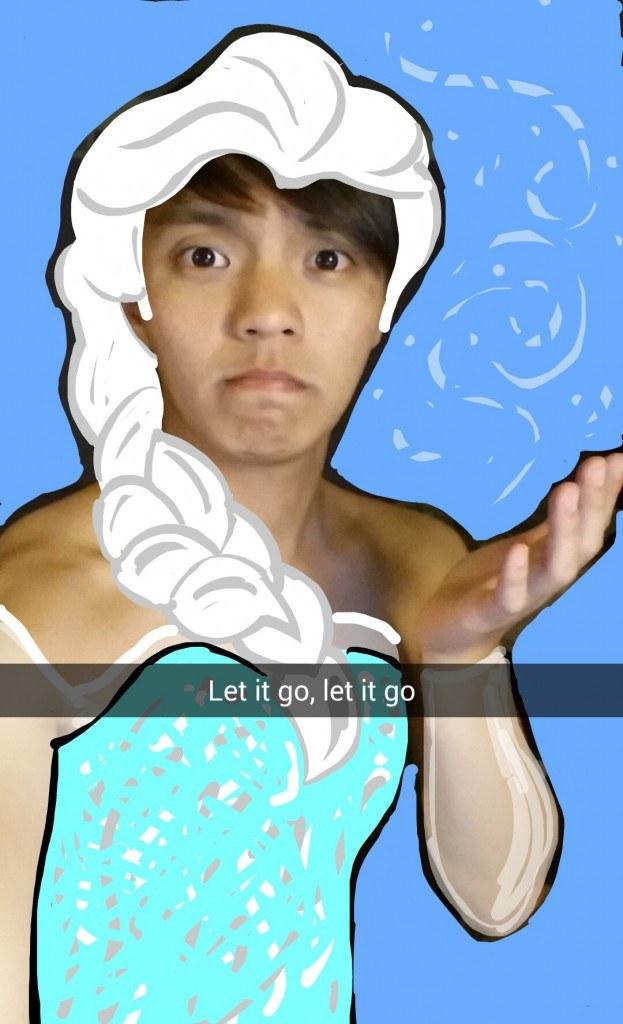 Snapchat-Queen-Elsa