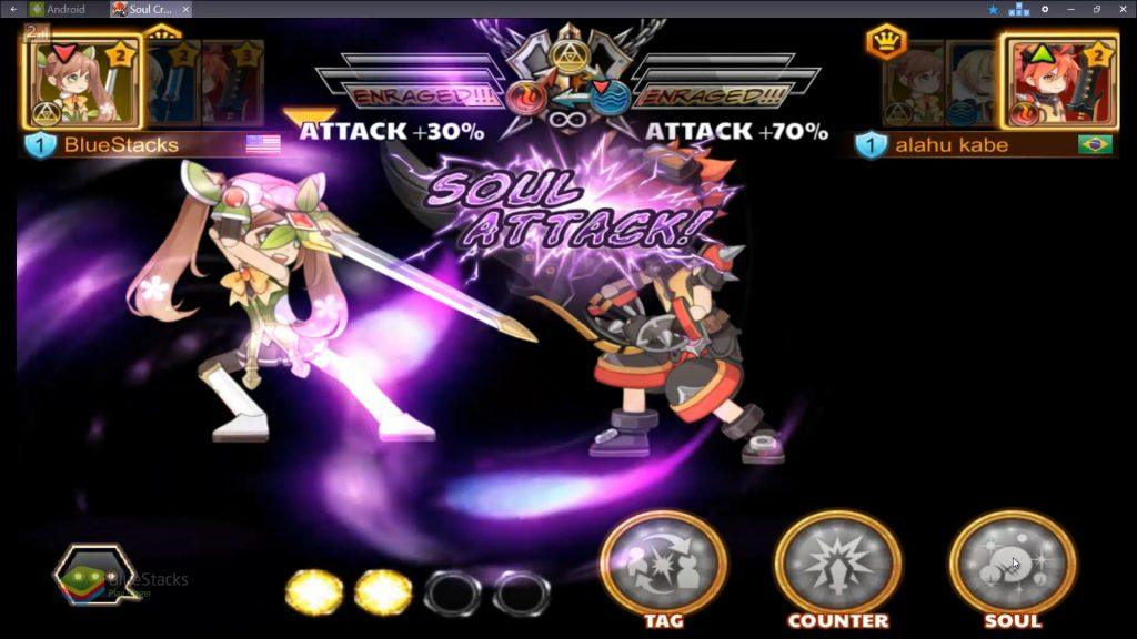Soul Crash - a real-time multiplayer sword fighting game