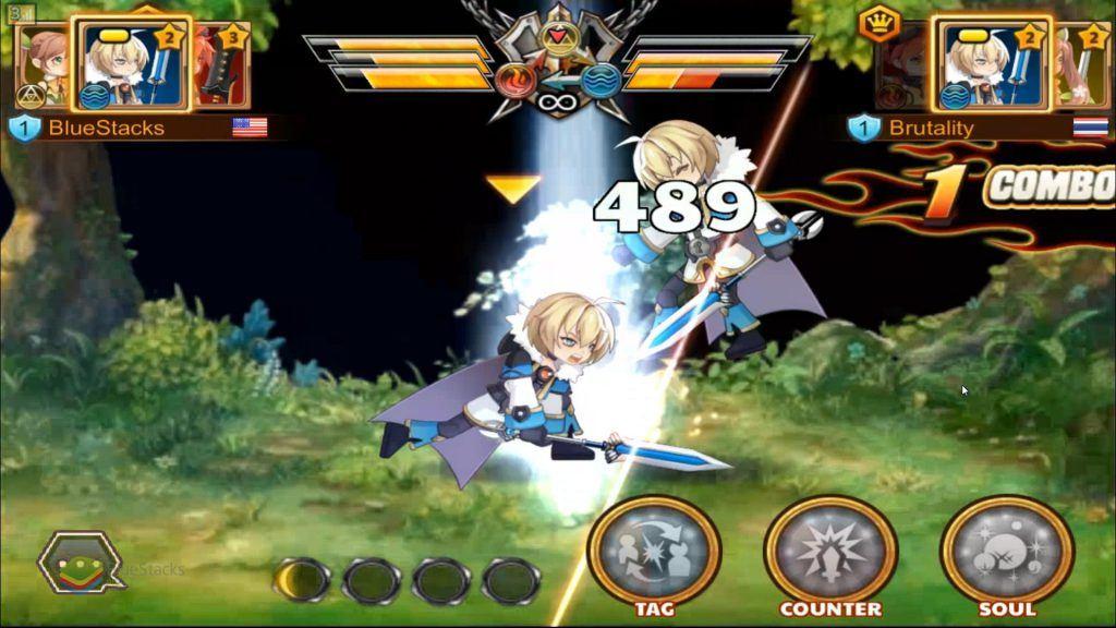 Soul Crash - Fighting