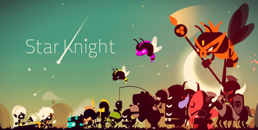 Star Knight Most Beautiful Graphics In This Run Jump