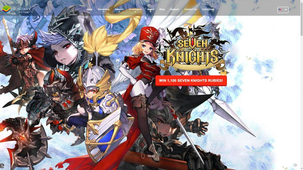 BlueStacks Giveaway: Win 1K Seven Knights Rubies!