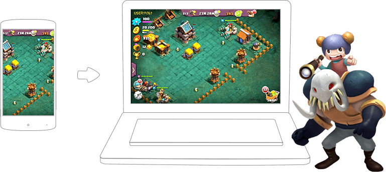 Play Clash of Lords 2 on PC and Mac with Bluestacks Android Emulator