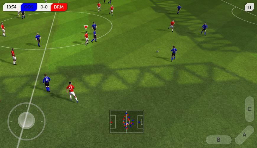Futebol jogo de futebol