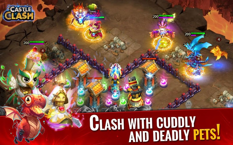 Play Castle Clash on PC with BlueStacks Android Emulator