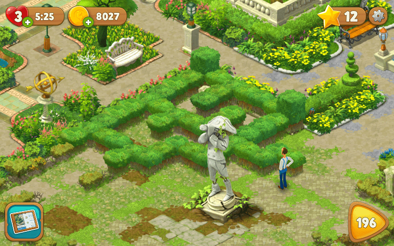 игра Gardenscapes скачать бесплатно на русском языке на компьютер - фото 11