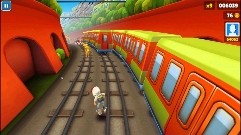 subway surf game free  for windows 7 pc