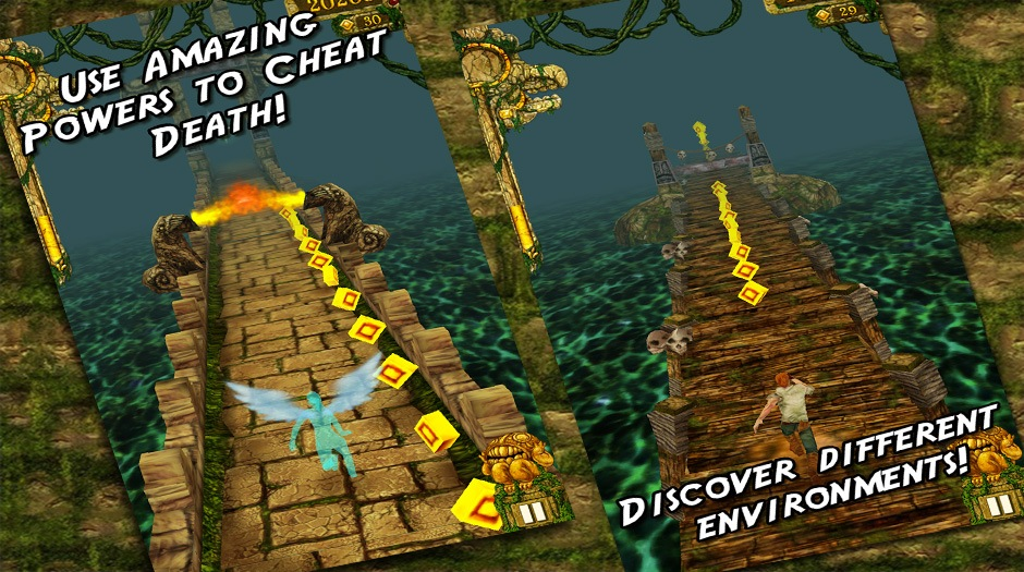 temple run how to play