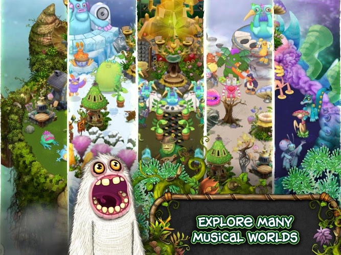 play my singing monsters on pc and mac with bluestacks