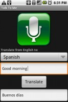 Talk to Me Translation