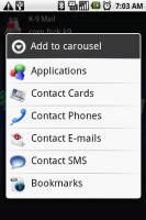 UltimateFaves Add Carousel Options