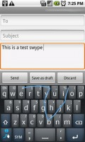 Swype Keyboard Writing 2