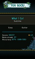 Guitar Hero 5 for Android Stats