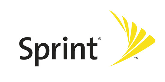 Sprint Logo White