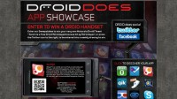 Weekly DROID Phone Giveaway Plus DROID Does Android Apps Showcase