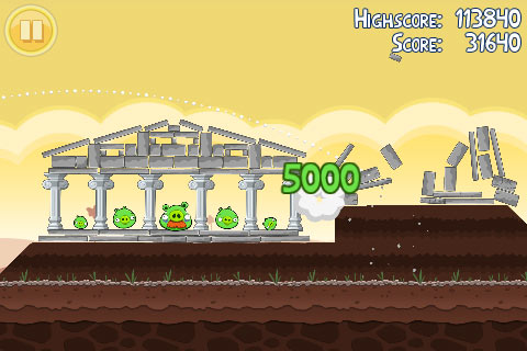 Angry Birds in Game Play 2