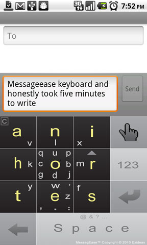 MessagEase Keyboard