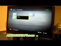 Sprint Demos DLNA Wireless Media Streaming to HDTV from Samsung Epic Android Smartphone