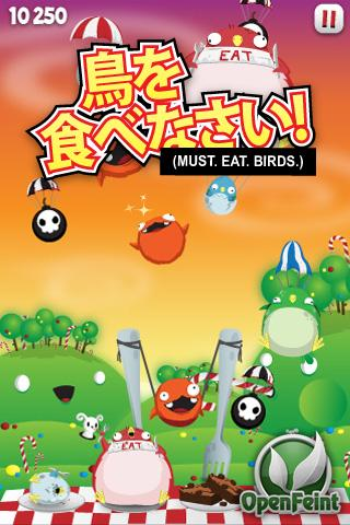 Must.Eat.Birds Splash Screen