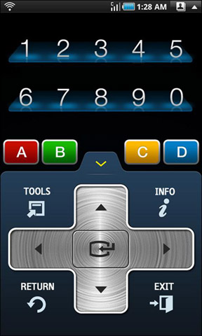 Samsung TV Remote Android App