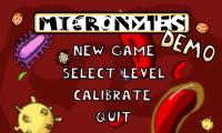 Micronytes Start Screen