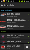 TuneIn Radio Sports Talk