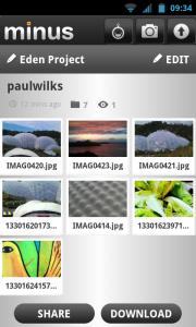 Minus - *New* Easily upload multiple files