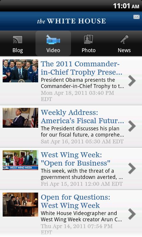 The White House App Video