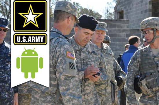 U.S. Army Issues Android Dev Kit