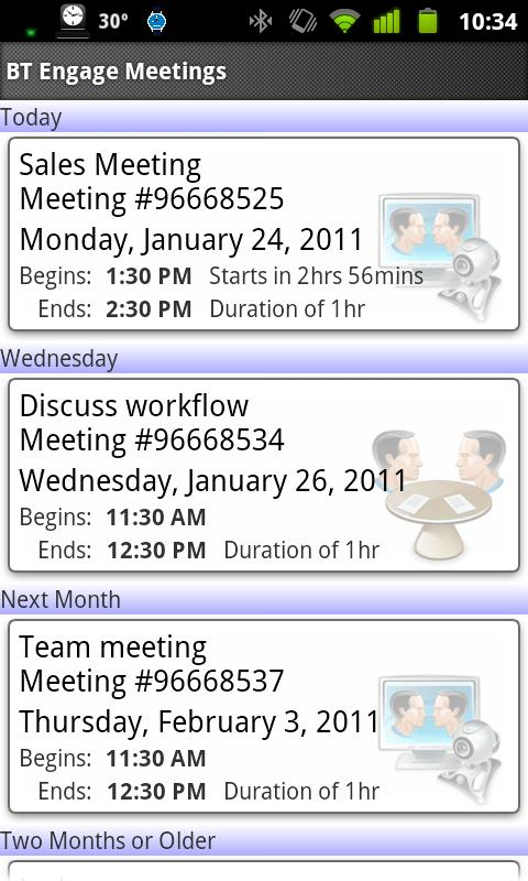 BT Engage Meeting Mobile