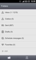 GO SMS Pro Folders