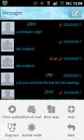 GO SMS Pro Menu