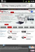 Popfax Website