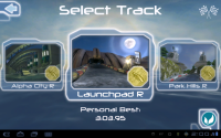 Riptide GP Track Selection