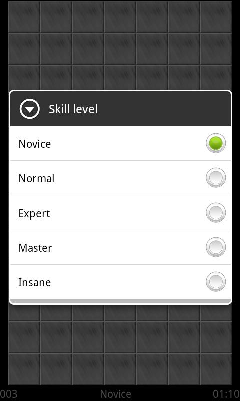 Scrambled Net Skill Level