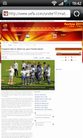 Sports Eye Soccer Stories link to website
