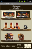 Chocolate App Main