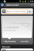 HP ePrint Search