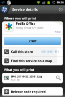HP ePrint Location