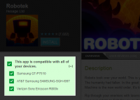 Android Market Install Compatible Apps